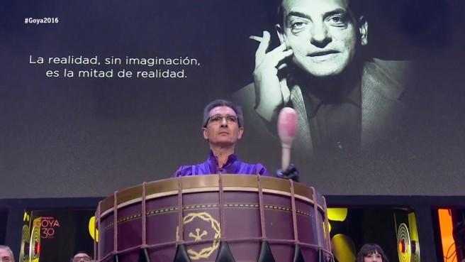 Juan Herrero en la Gala de los Premios Goya 2016