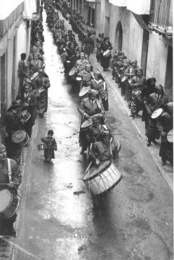 """Procesión de """"El Pregón"""" - Semana Santa de Calanda de 1972"""