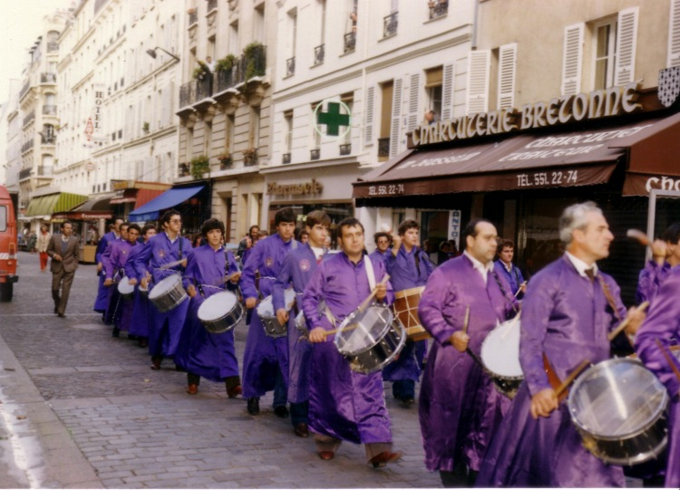 Tambores de Calanda en París