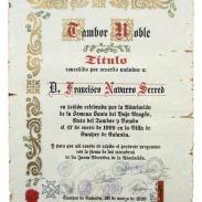 Tambor Noble Francisco Navarro