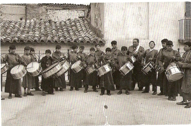 Escuela de Tambores 1972