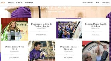 Web Semana Santa Calanda