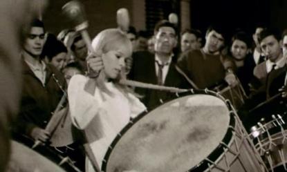 Geraldine Chaplin en Peppermint Frappe (Carlos Saura, 1967)
