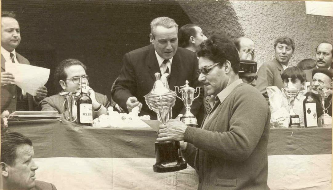 Tomás Gascón concurso tambores Híjar (Foto del C.E. del Bajo Martín)