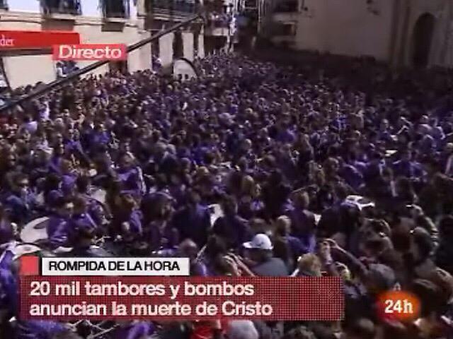 Rompida de la Hora en Directo en RTVE