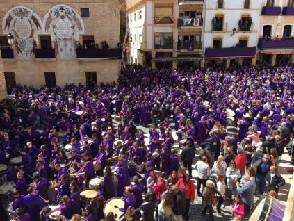 Semana Santa de Calanda - Finalización Redobles 2015