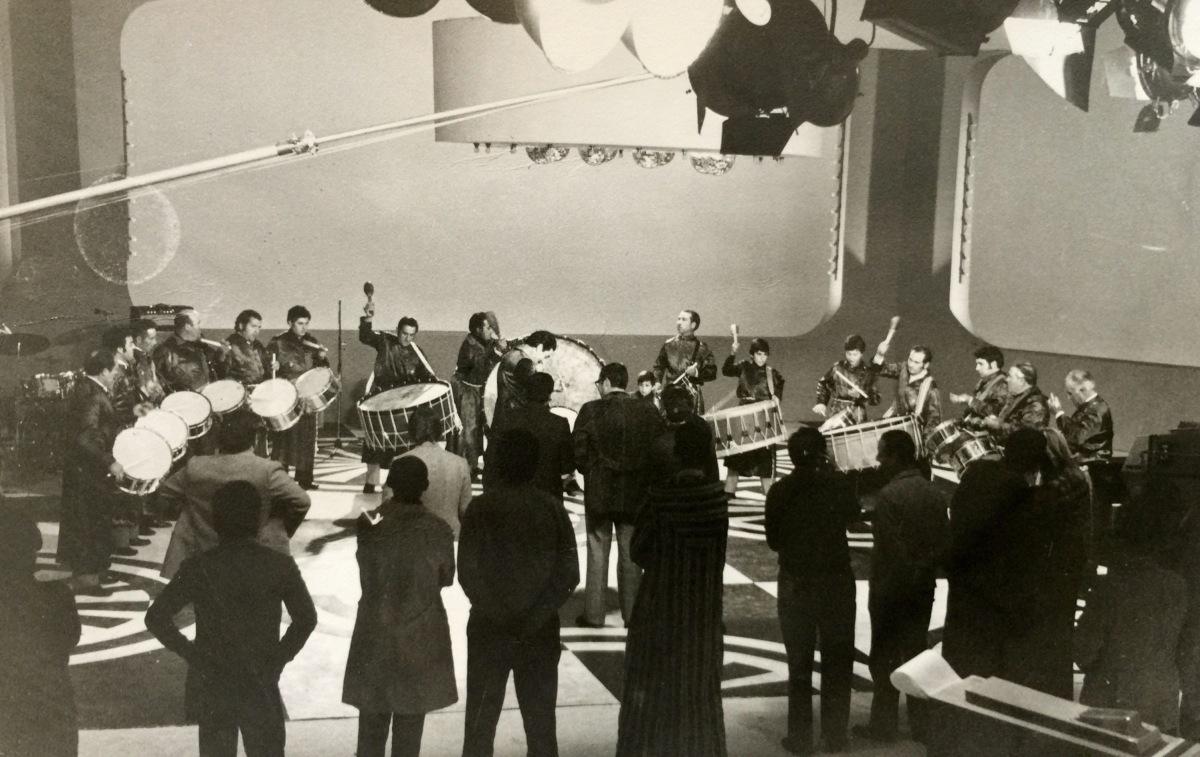 "Los Tambores en RTVE Programa J.M. Íñigo ""Directísimo"" 1977"