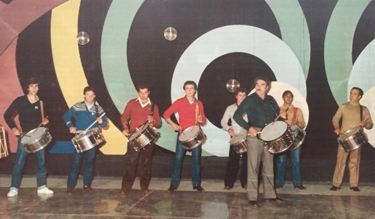"""Los tambores y bombos de Calanda en el programa """"Estudio Abierto"""" de RTVE, - (17 de Noviembre de 1982)"""