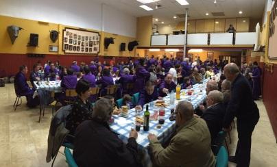 Almuerzo Nazareno Sábado Santo 2015