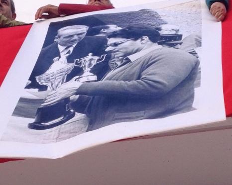 Recuerdo a la Cuadrilla de Tomas Gascón en 50 Aniversario concurso Híjar
