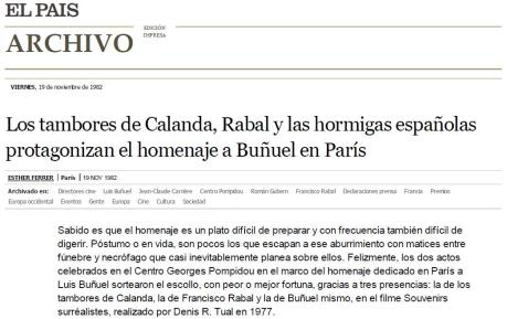 El Pais 19/11/1982