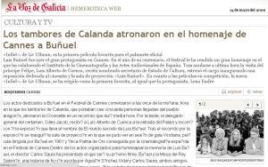 La Voz de Galicia 14/05/2000