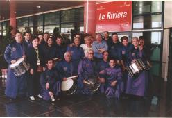 Tambores de Calanda en Cannes, año 2000