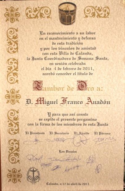 Miguel Franco Anadón