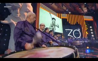 Tambores y Bombos de Calanda en los Goya
