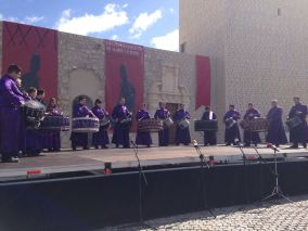 Representación de Calanda en acto de exaltación Baena 2016 - Foto de Carlos Palos