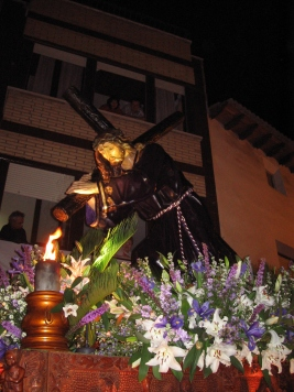 """Cofradía de """"Jesús Nazareno"""" - Foto José Adserías"""