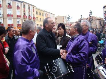 Juan José Omella con Calandinos en Calahorra 2009