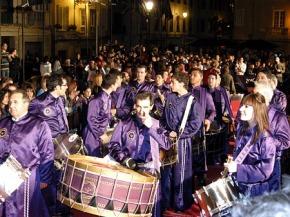 Tambores y Bombos de Calanda en Málaga 2009