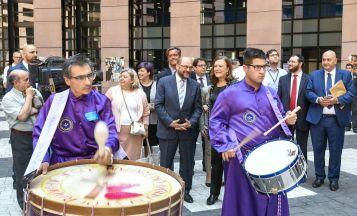 Tambores y Bombos de Calanda con Martin Schulz e Inés Ayala