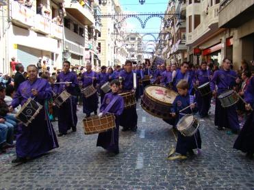 Tambores de Calanda en Alcoy 2008
