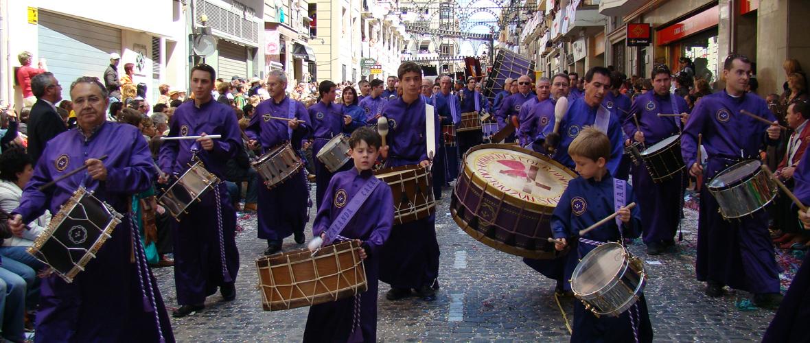 Calanda Nazareno - Tambores de Calanda - Alcoy - 2008