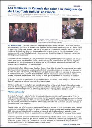 heraldo.es 29 de Marzo de 2006
