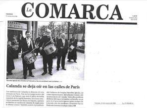 La Comarca 31 de Marzo de 2006