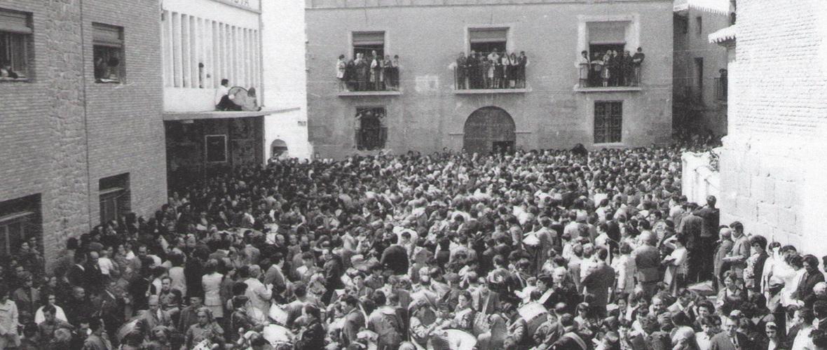 calandanazareno rompida de la hora 1971 ultimo año en la plaza de la hoya