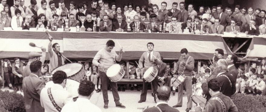 calandanazareno - Cuadrilla Tomás Gascón consurso tambores Híjar