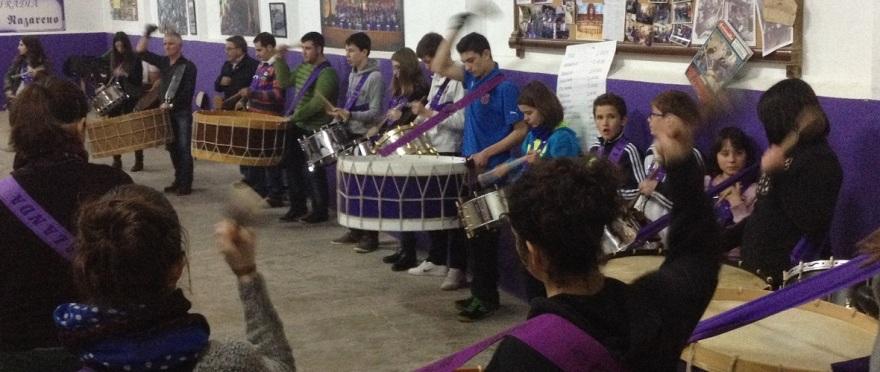 calandanazareno - Ensayos tambor y bombo