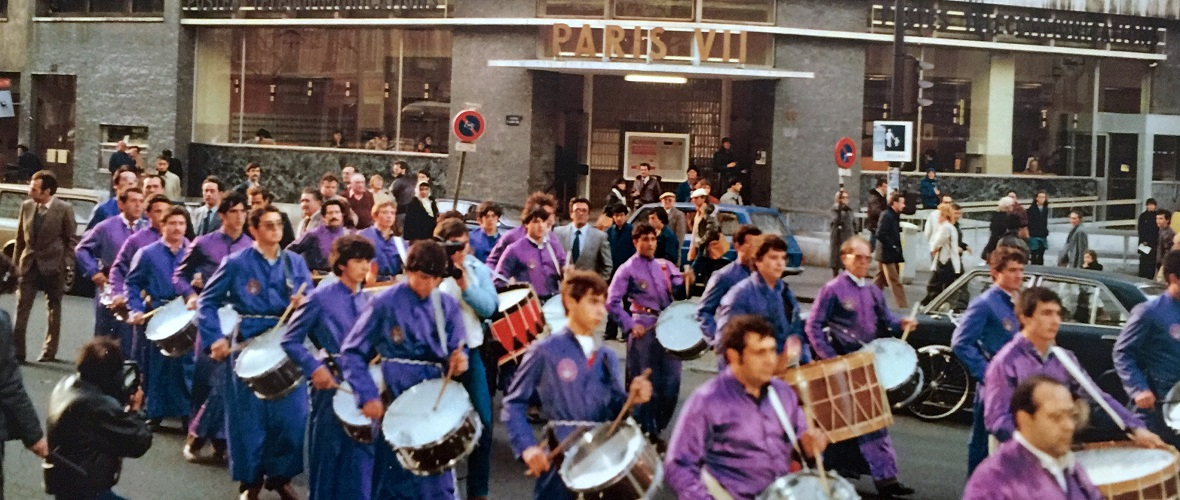 calandanazareno - Tambores en Paris 1982