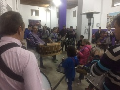 Escuela del tambor y el bombo viernes 3 de marzo de 2017, último día de la II edición