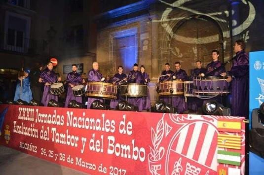 Representación de Calanda en Jornadas Alcañiz - Foto Ayuntamiento de Alcañiz