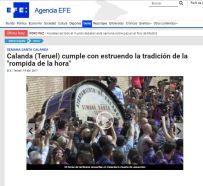 AgenciaEFE Viernes Santo 2017 - Semana Santa Calanda