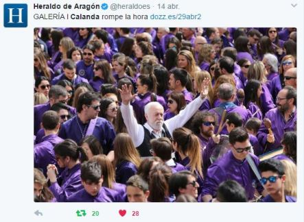 Heraldo de Aragón Viernes Santo 2017 - Semana Santa Calanda