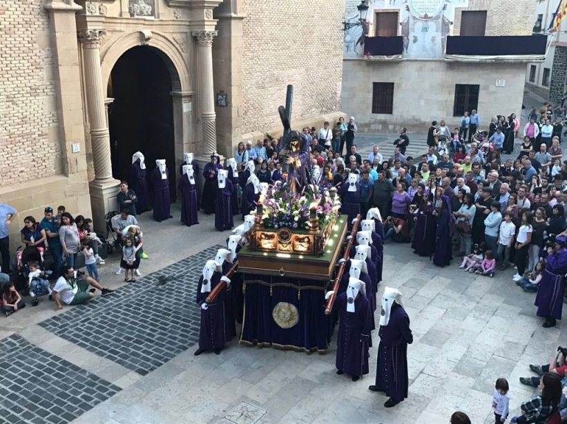 Jesús Nazareno Procesión de La Soledad 2017 - Foto de Javier Uroz Pascual