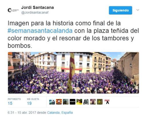 Fotógrafo Jordi Santacana - Semana Santa Calanda