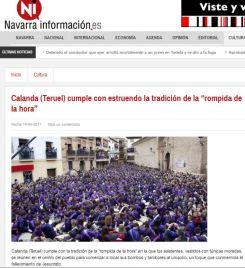 Navarra Información Viernes Santo 2017 - Semana Santa Calanda
