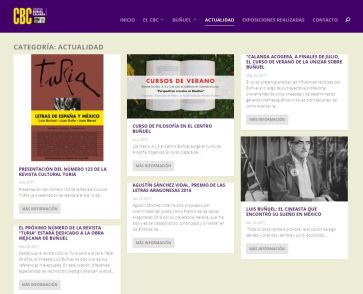 Nueva Web Centro Buñuel Calanda
