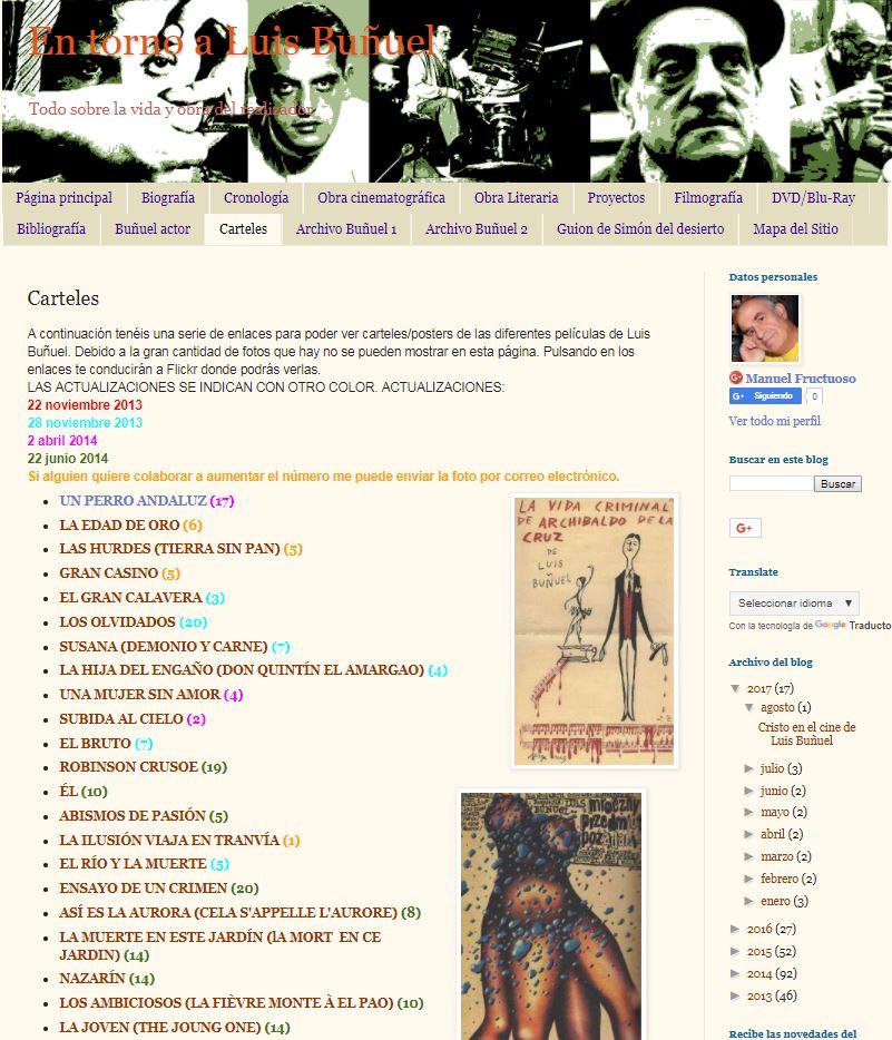 """""""En torno a Buñuel"""" de Manuel Fructuoso"""