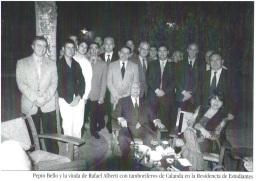 Tambores de Calanda 2004 Residencia Estudianes Madrid