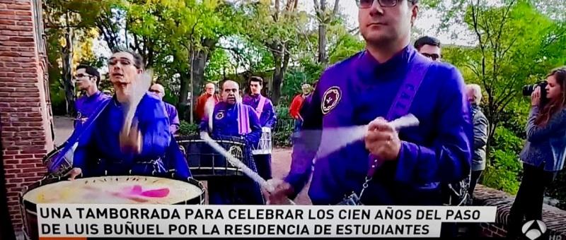 calandanazareno - RTVE tambores de Calanda en la REsidencia de Estudiantes 2017