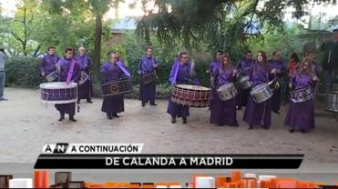 Aragón TV - Tambores y bombos de Calanda en el 100 aniversario de la llegada de Luis Buñuel a la Residencia de Estudiantes