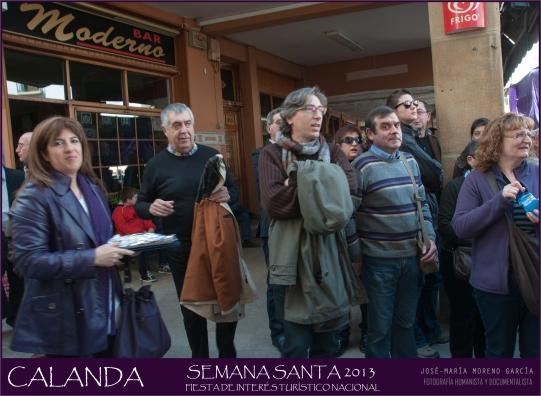 David Trueba Semana Santa de Calanda 2013 (Foto de José María Moreno García)