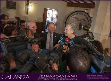 Fernando Trueba Semana Santa de Calanda 2013 (Foto de José María Moreno García)