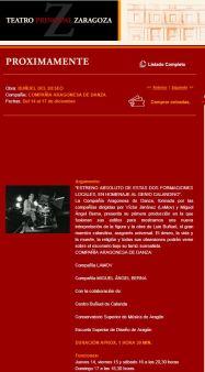 """Teatro Principal Zaragoza - """"Buñuel del deseo"""""""