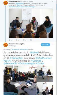 """Gobierno de Aragon - Presentación de """"Buñuel del Deseo"""""""
