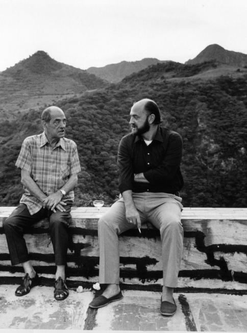 Luis Buñuel y su hijo Juan Luis