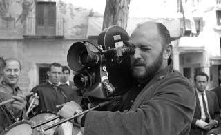 """Juan Luis Buñuel rodando """"Calanda"""" en 1966"""